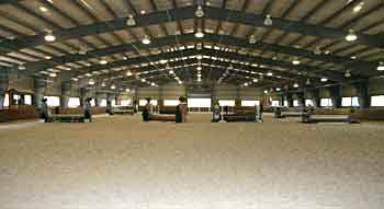 Indoor Arena at Caves Farm
